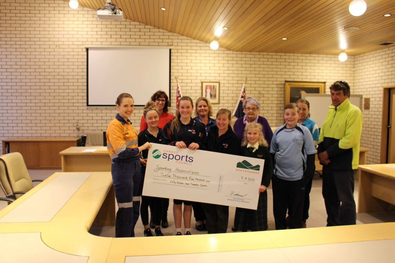 12551 in Northparkes Sports Grants handed out