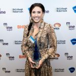 Brooke Lees wins the Exceptional Young Woman in Mining award